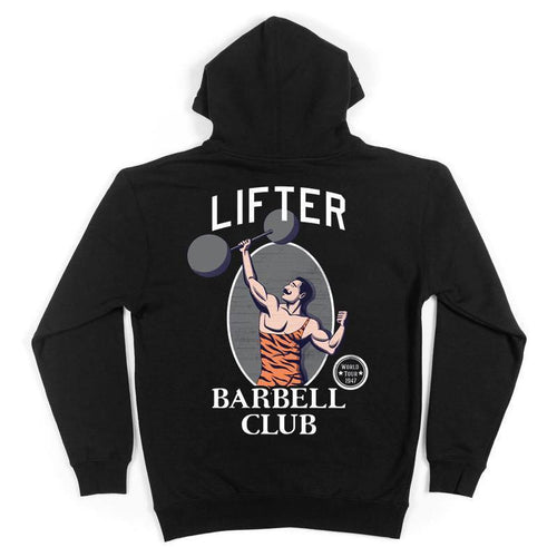 Lifter - Barbell Club Hoodie Back