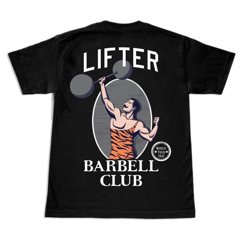 Lifter - Barbell Club T-Shirt Back