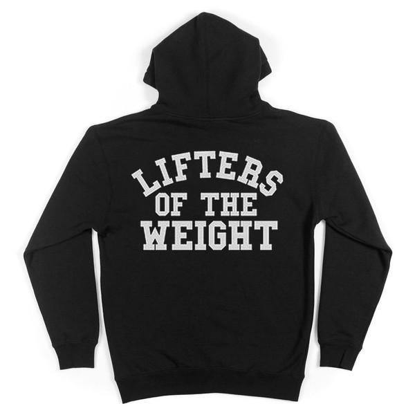Lifter - Lifters Of The Weight Hoodie Back