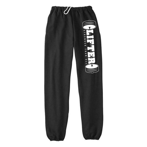 "Buy Now – Lifter ""Stronger"" Sweatpants – Cold Cuts Merch"