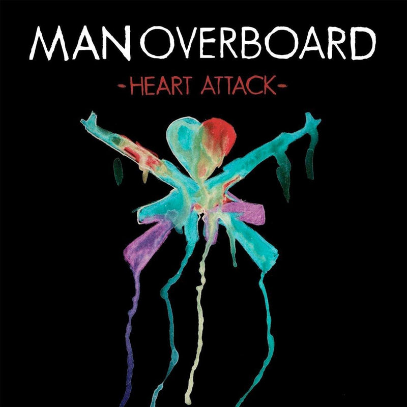 "Man Overboard ""Heart Attack"" CD"