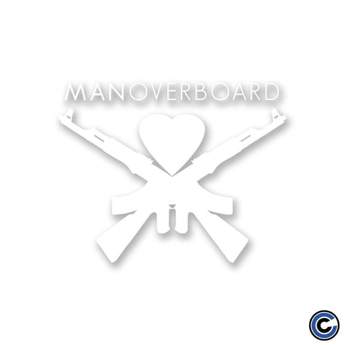 "Man Overboard ""Logo"" Cut Vinyl Decal"