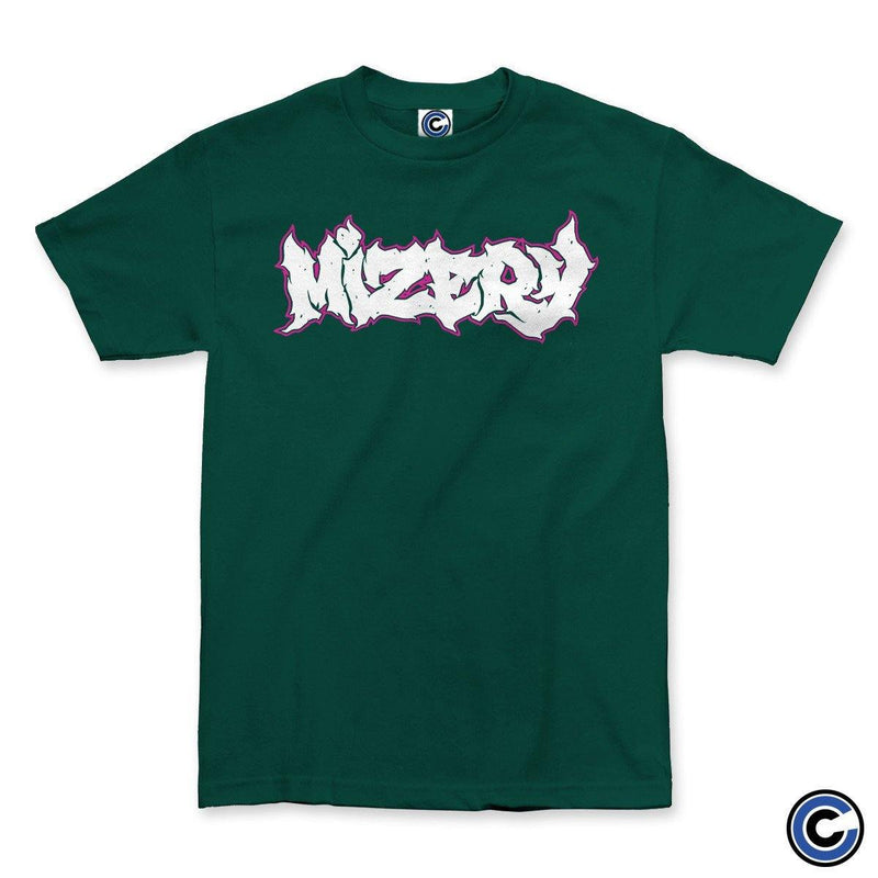 "Buy – Mizery ""Logo"" Shirt – Band & Music Merch – Cold Cuts Merch"