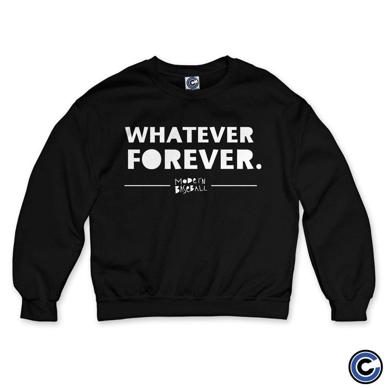 "Modern Baseball ""Whatever Forever"" Crewneck"