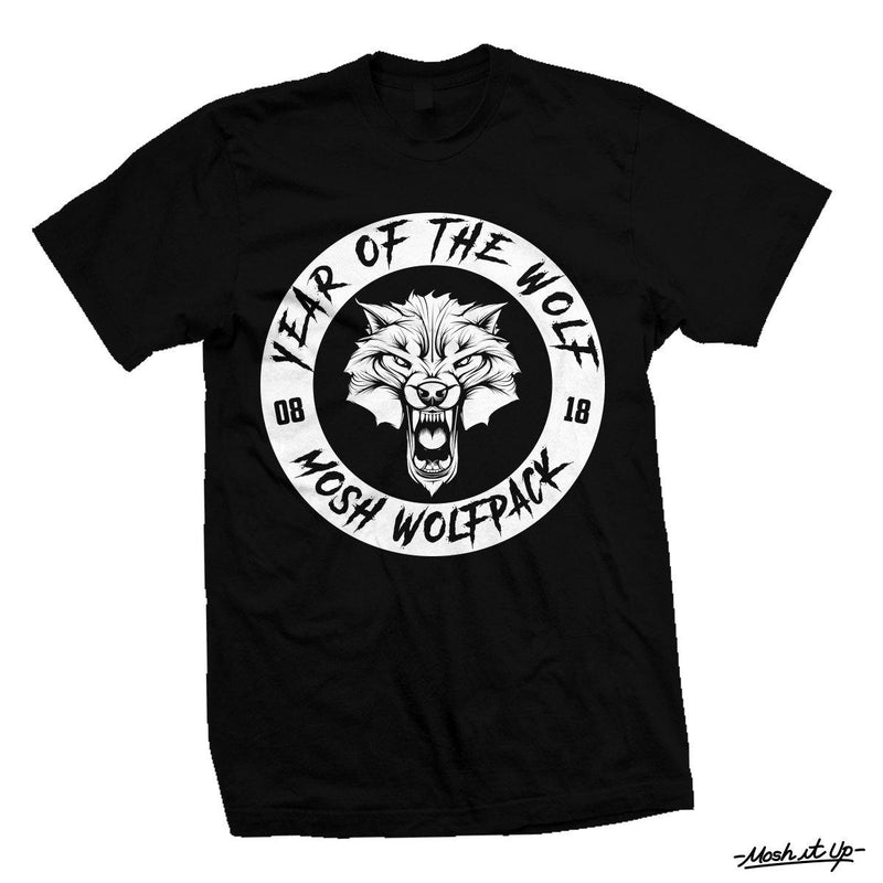 "Mosh It Up ""Year of the Wolf"" Shirt"