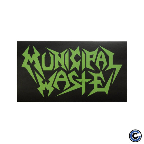 "Buy Now – Municipal Waste ""Logo"" Sticker – Cold Cuts Merch"