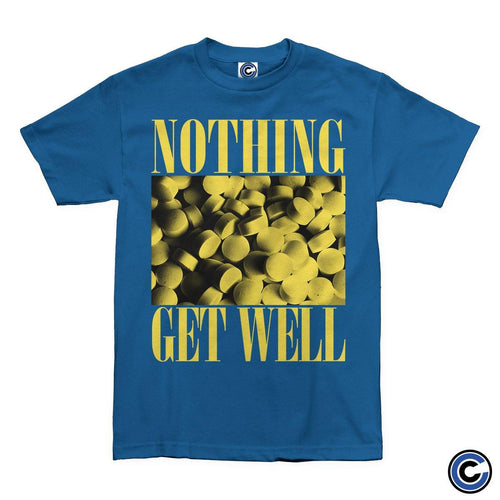 "Nothing ""Get Well"" Shirt Royal"
