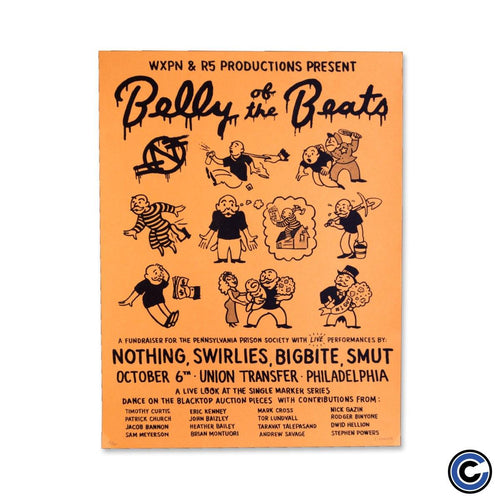 "Nothing ""Belly of The Beats"" Poster"