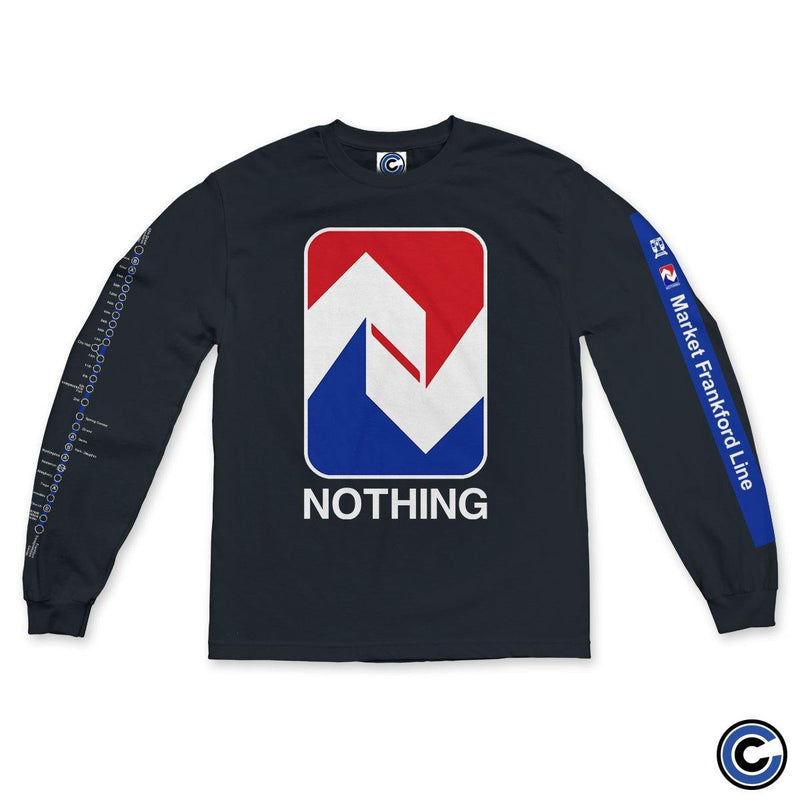 "Nothing ""Blue Line Baby"" Long Sleeve"