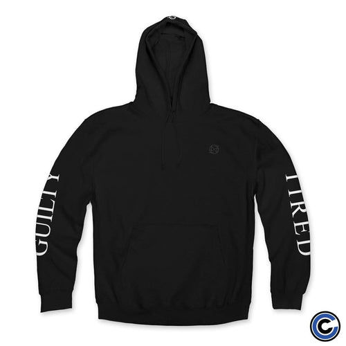 "Nothing ""Guilty and Tired"" Black Hoodie"