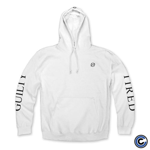 "Nothing ""Guilty and Tired"" White Hoodie"