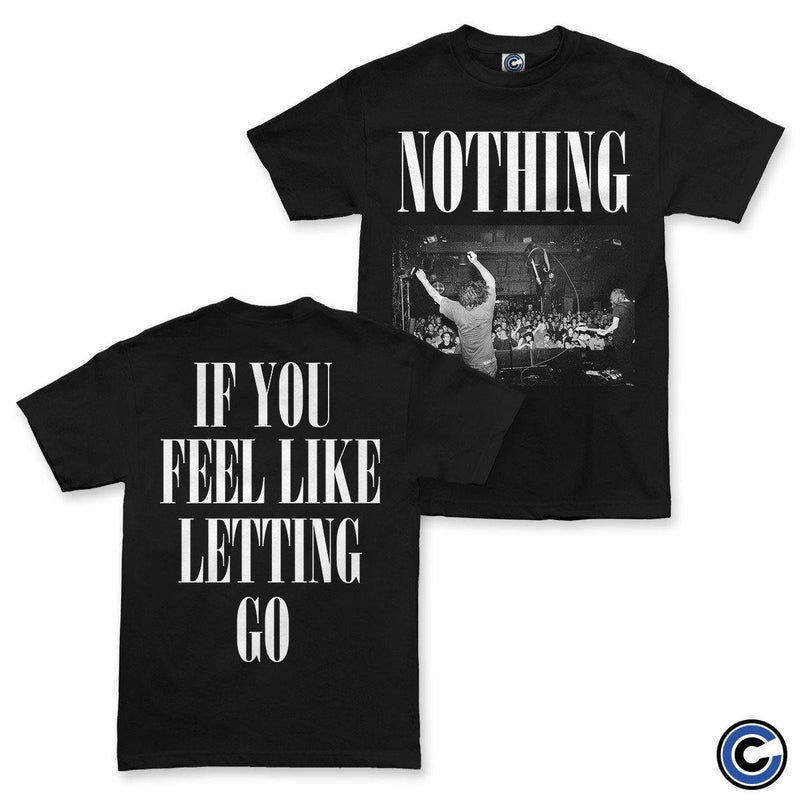 "Nothing ""Letting Go"" Black Shirt"