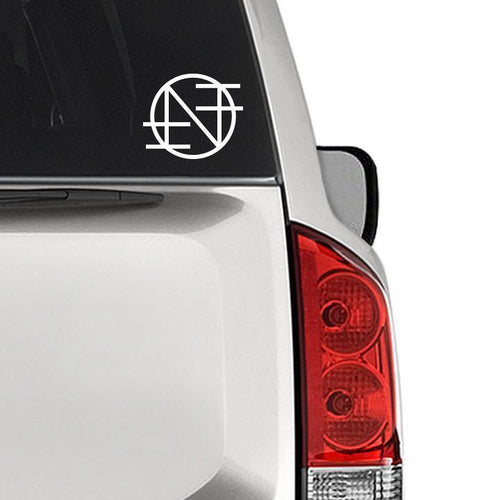 "Nothing ""Logo"" Cut Vinyl Decal"