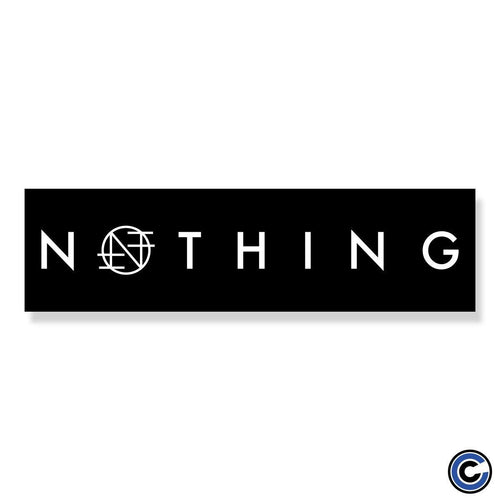 "Nothing ""Logo"" Bumper Sticker"