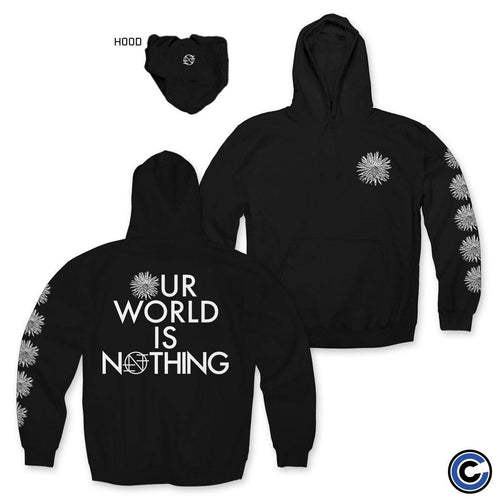 "Nothing ""Our World Is Nothing Flower"" Hoodie"