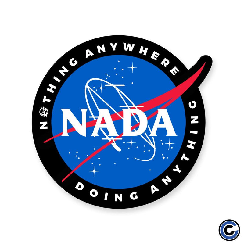 "Nothing ""Space"" Die Cut Sticker"