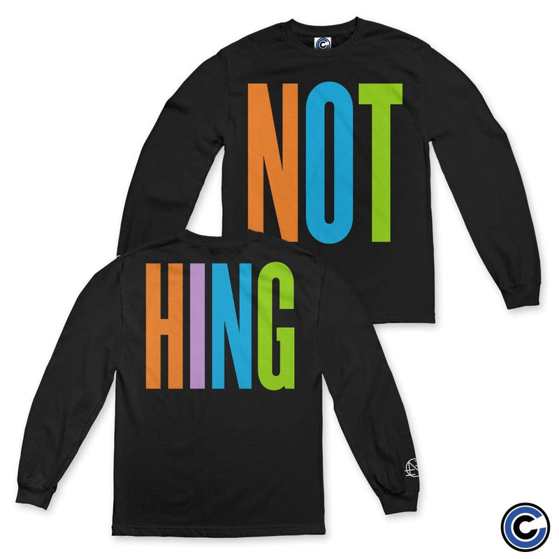 "Nothing ""Split Letters"" Long Sleeve"