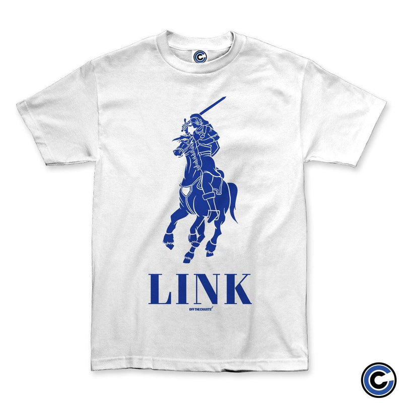 "Off The Charts ""Link Polo"" White Shirt"