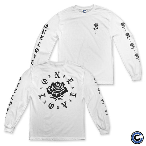 "Buy – One Love Apparel ""Big and Small Rose"" Long Sleeve – Band & Music Merch – Cold Cuts Merch"