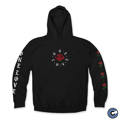 "Buy – One Love Apparel ""One Rose"" Hoodie – Band & Music Merch – Cold Cuts Merch"