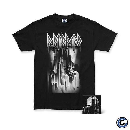 "Perturbator ""Skyline"" Shirt Music Bundle"