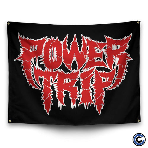 "Buy Now – Power Trip ""Logo"" Flag – Cold Cuts Merch"