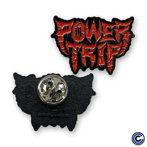 "Power Trip ""Spikey Logo"" Pin"