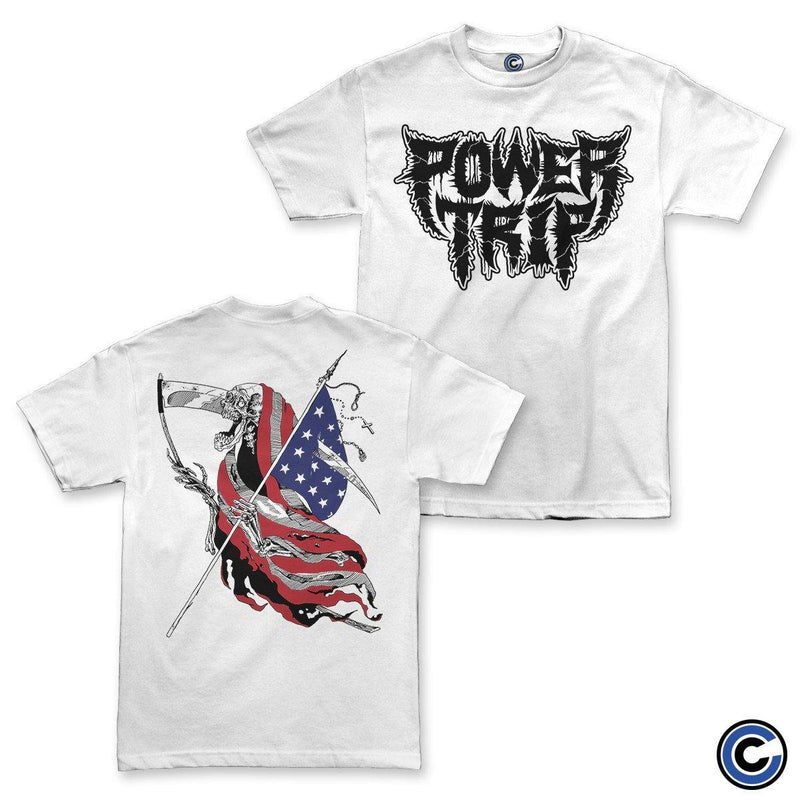 "Buy Now – Power Trip ""American Reaper"" Shirt – Cold Cuts Merch"