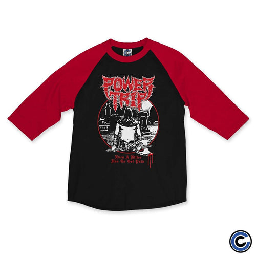 "Power Trip ""Even A Killer"" Raglan"