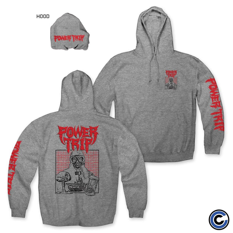 "Power Trip ""Gas Mask"" Hoodie"