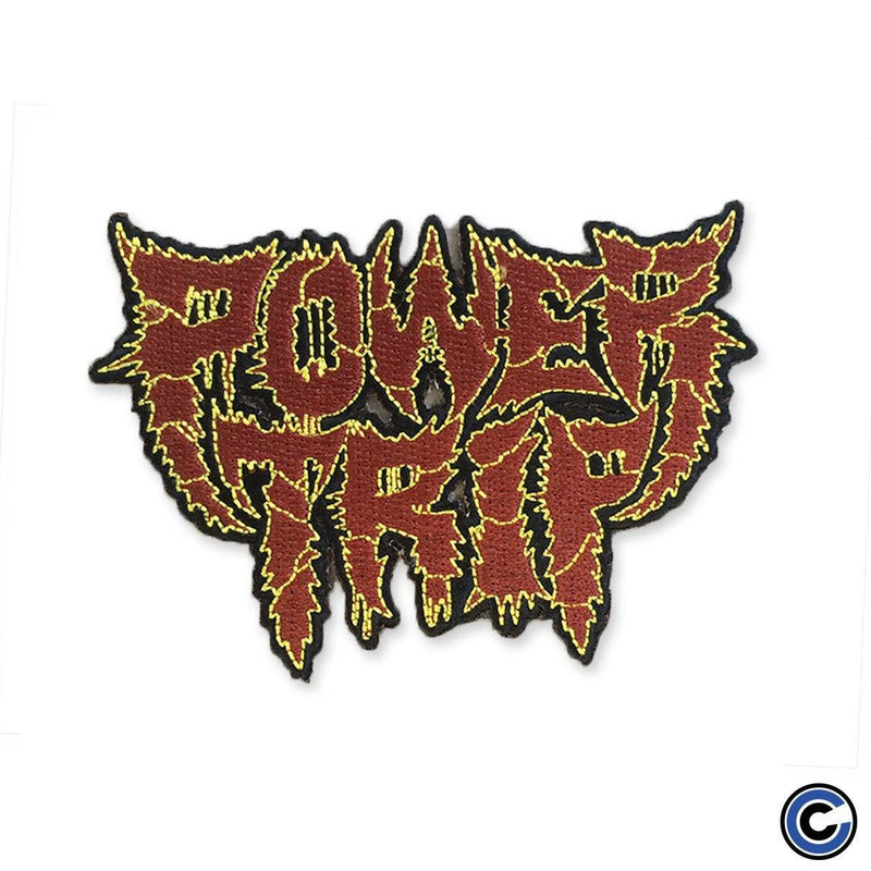 "Power Trip ""Logo"" Iron On Patch"