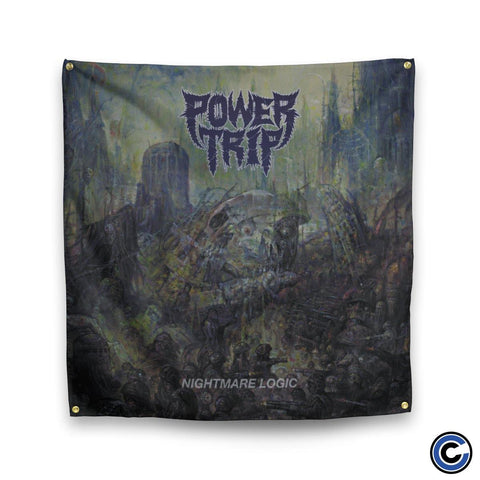 "Power Trip ""Nightmare Logic"" Flag"