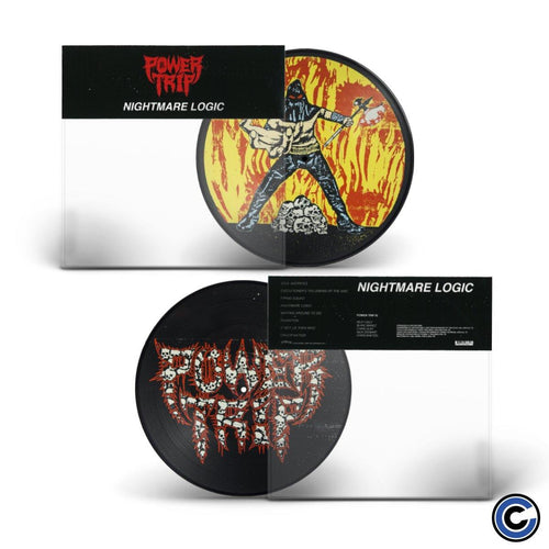 "Power Trip ""Nightmare Logic"" Picture Disc LP"