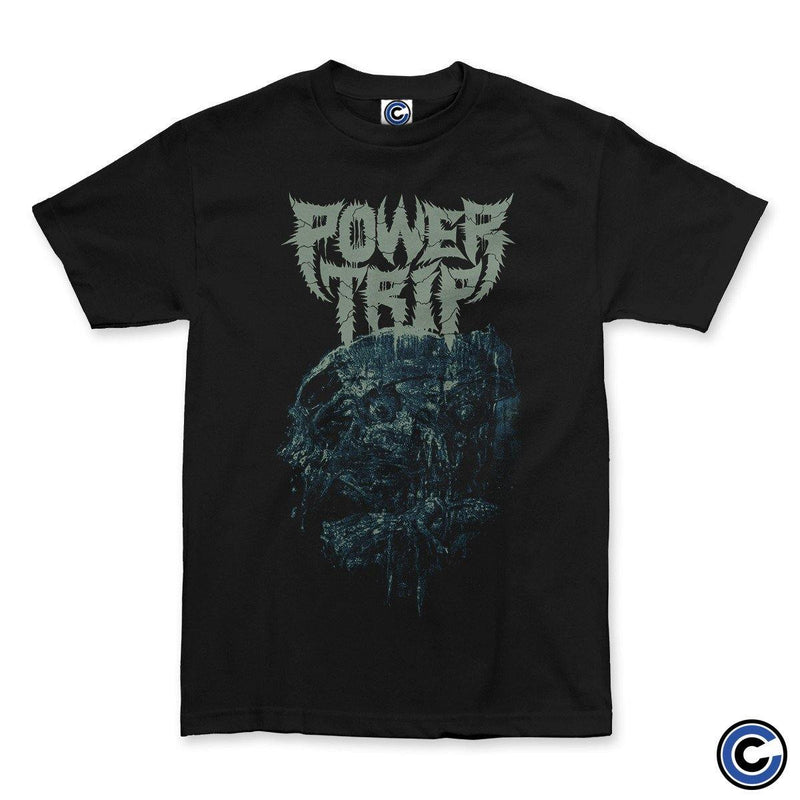 "Power Trip ""Nightmare Logic Skull"" Shirt"