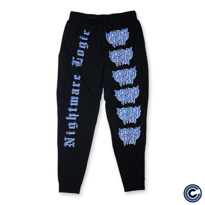 "Power Trip ""Nightmare Logic"" Joggers"