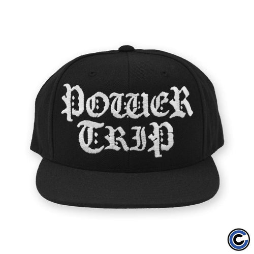 "Power Trip ""Logo"" Snapback"