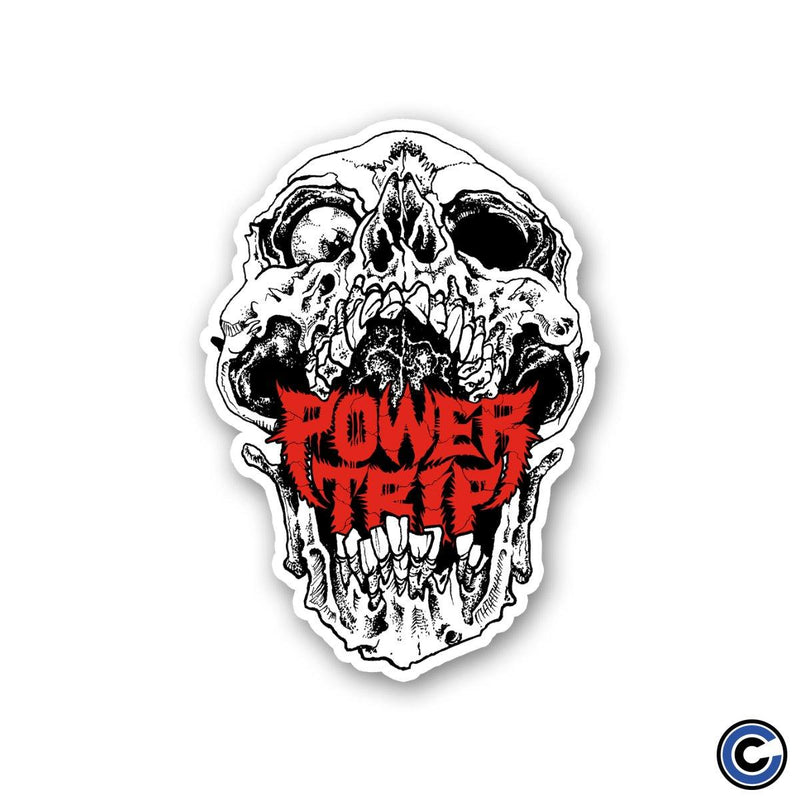 "Power Trip ""Skull"" Die Cut Sticker"