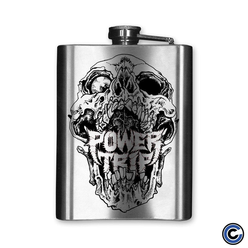 "Power Trip ""Skull"" Flask"