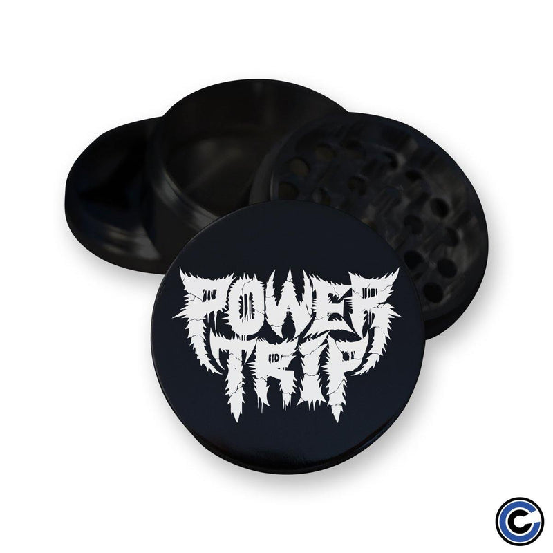 "Power Trip ""Spikey Logo"" Grinder"