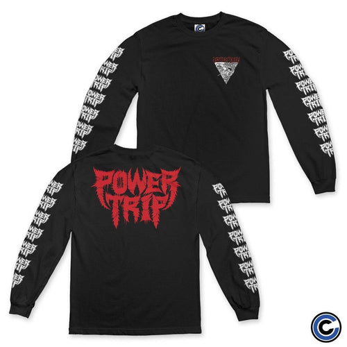 "Power Trip ""Triangle"" Long Sleeve"