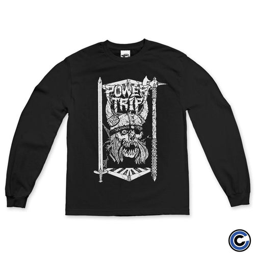 "Power Trip ""Viking Skull"" Long Sleeve"