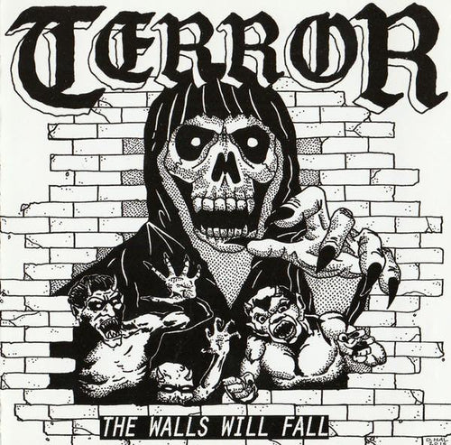 "Terror ""The Walls Will Fall"" 7"""
