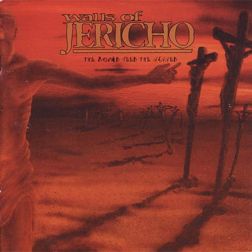 "Walls of Jericho ""The Bound Feed The Gagged"" CD"