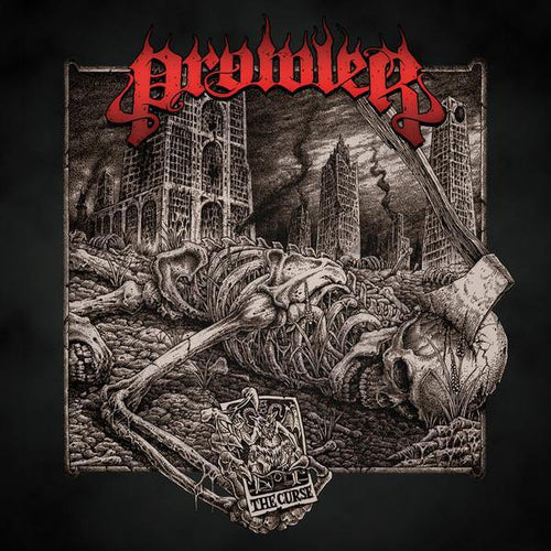 "Prowler ""The Curse"" CD"