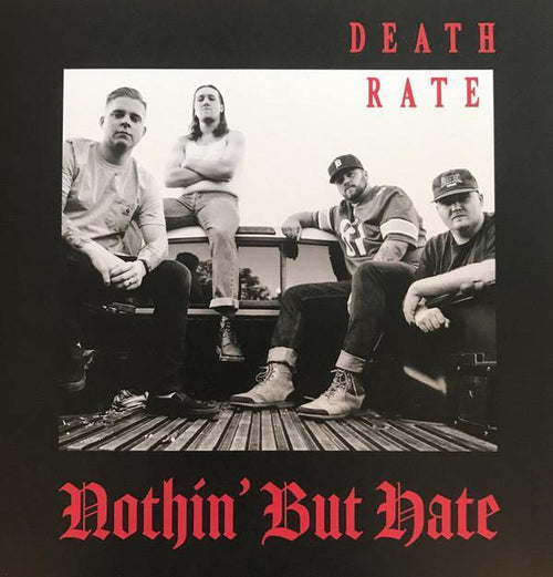 "Buy Now – Death Rate ""Nothin' But Hate"" 7"" – Cold Cuts Merch"