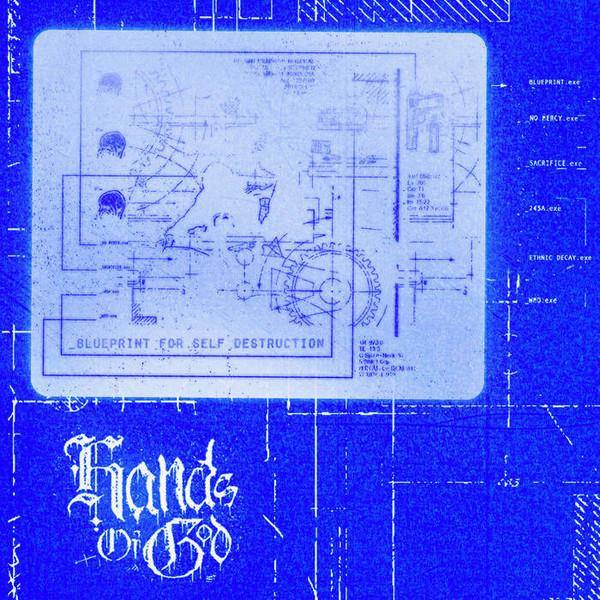 "Hands of God ""Blueprint For Self Destruction"" 12"" EP"