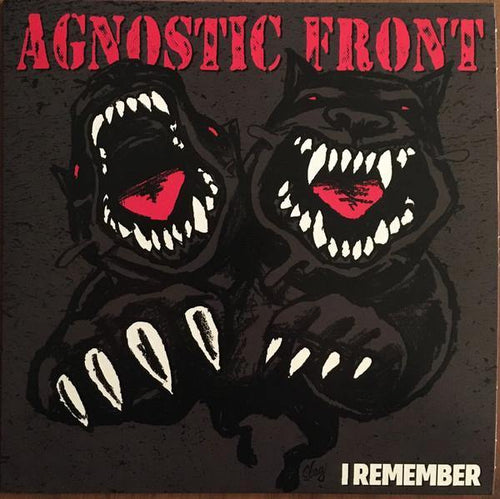 "Agnostic Front ""I Remember"" 7"""