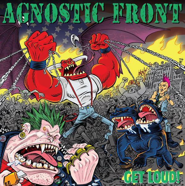 "Buy – Agnostic Front ""Get Loud!"" 12"" – Band & Music Merch – Cold Cuts Merch"
