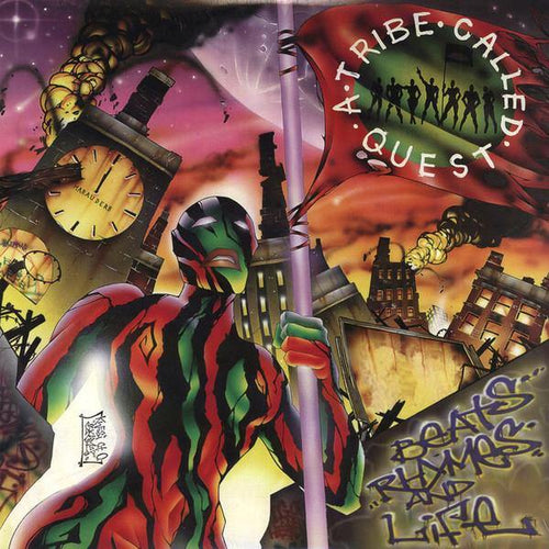 "A Tribe Called Quest ""Beats, Rhymes & Life"" 2x12"""