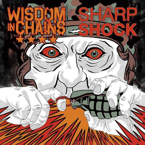 "Buy – Wisdom in Chains/Sharp Shock 7"" – Band & Music Merch – Cold Cuts Merch"